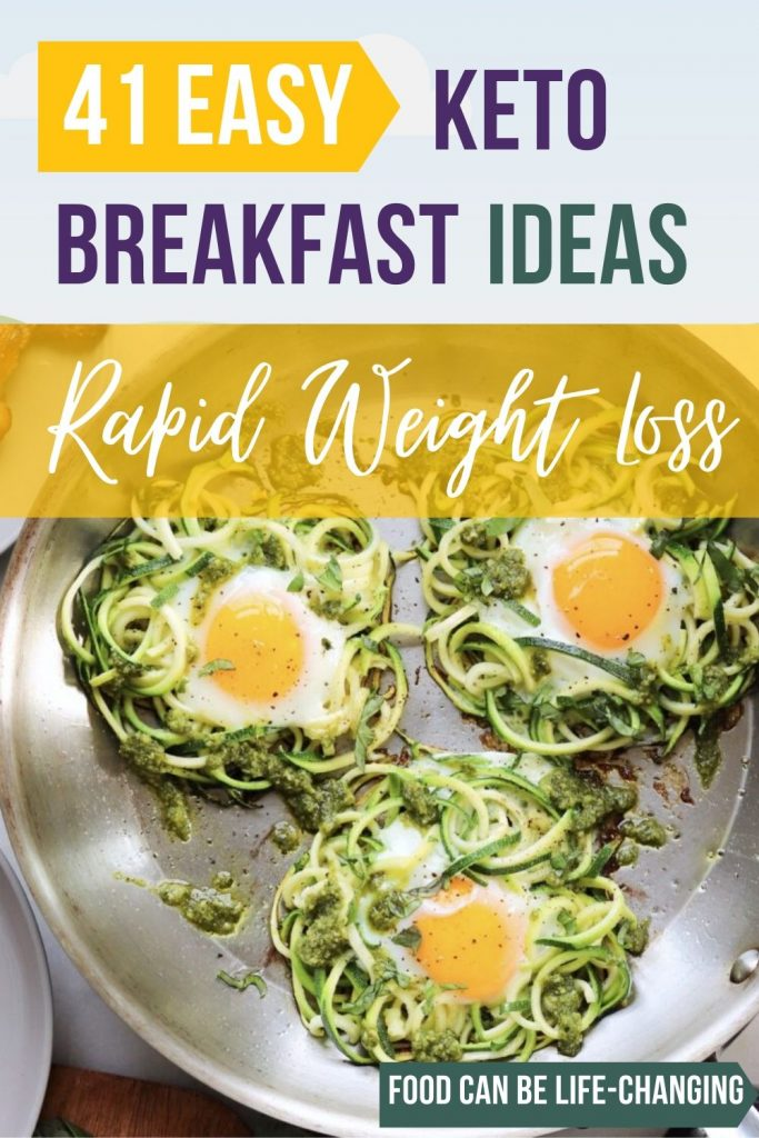 41 Amazing Quick & Easy KETO Breakfast Ideas