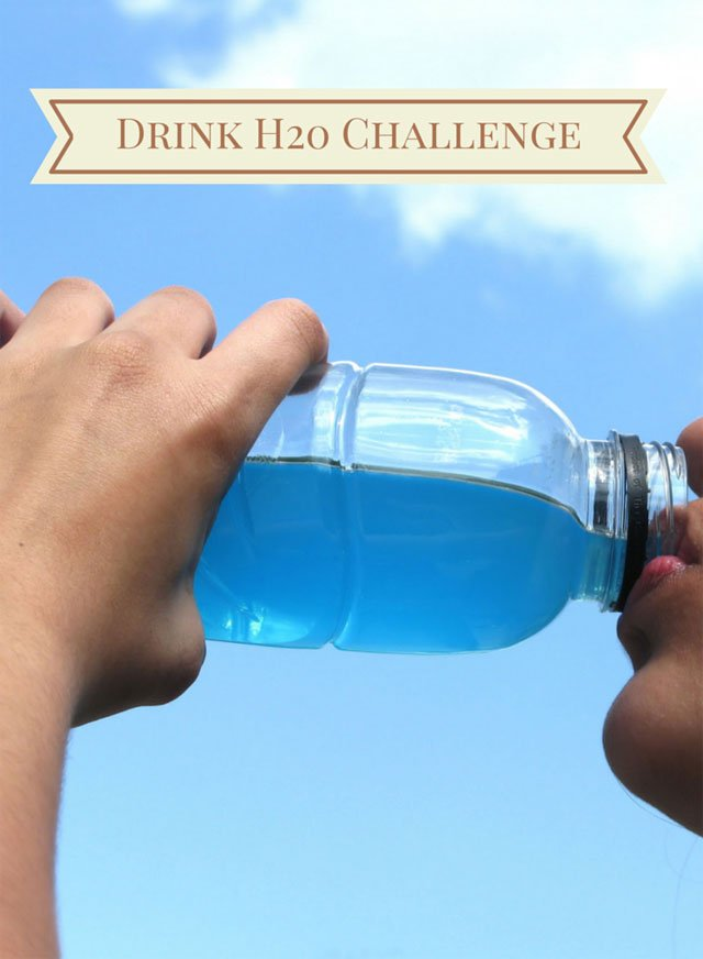 Drink Water Challenge Tracking Sheets | Welcometotheonepercent.com