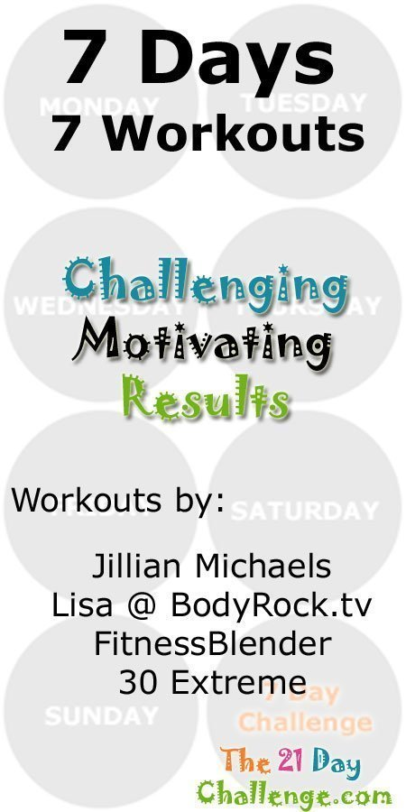 This Weeks Workout 1 ~ May 12 – 18 2014