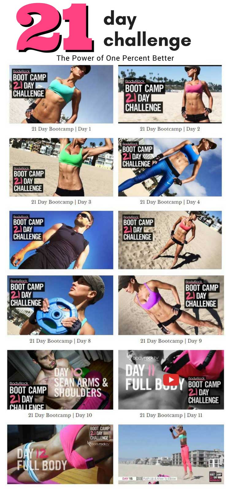 BodyRock 21 Day Boot Camp Challenge