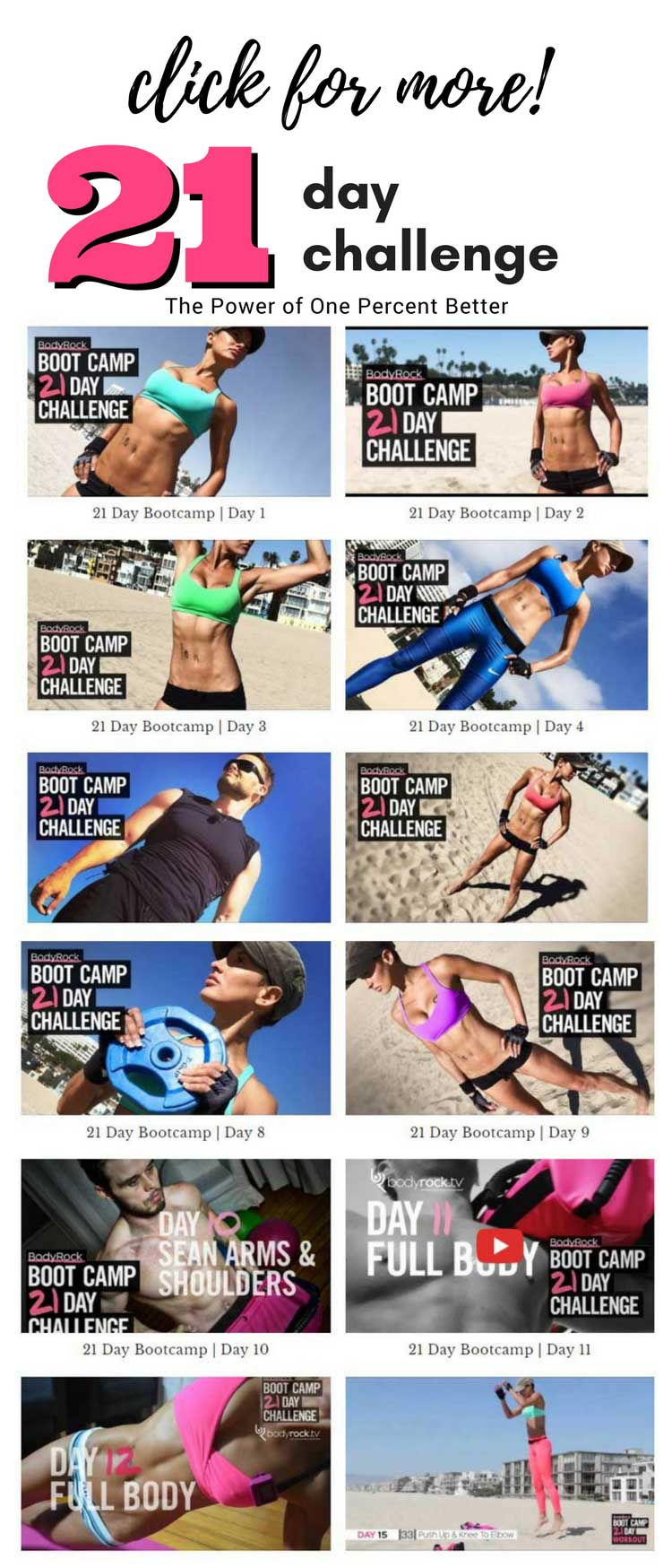BodyRock Book Camp 21 Day Challenge