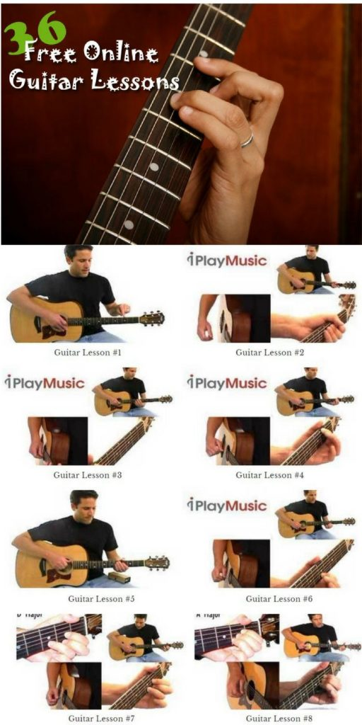 36 Free Online Guitar Lessons