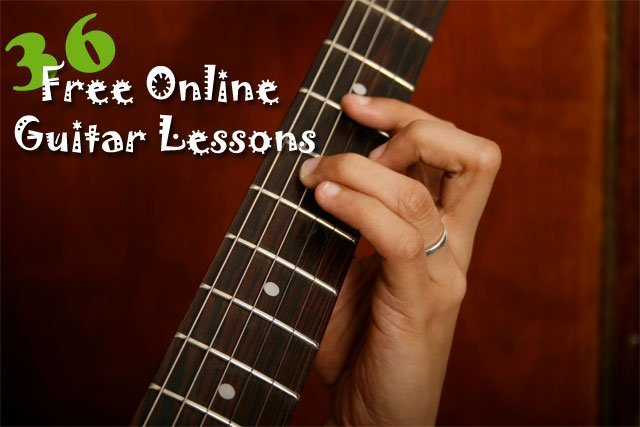 Welcome To Free Online Video Guitar Lessons