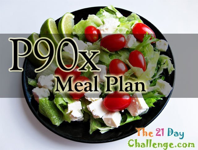 p90x Diet Meal Plan