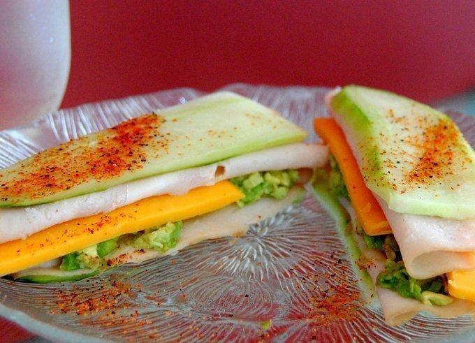Cucumber Turkey Sandwich