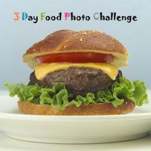 3 Day Food Photo Challenge