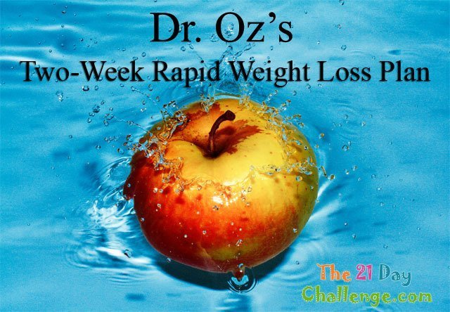 Dr. Oz's Two-Week Rapid Weight Loss