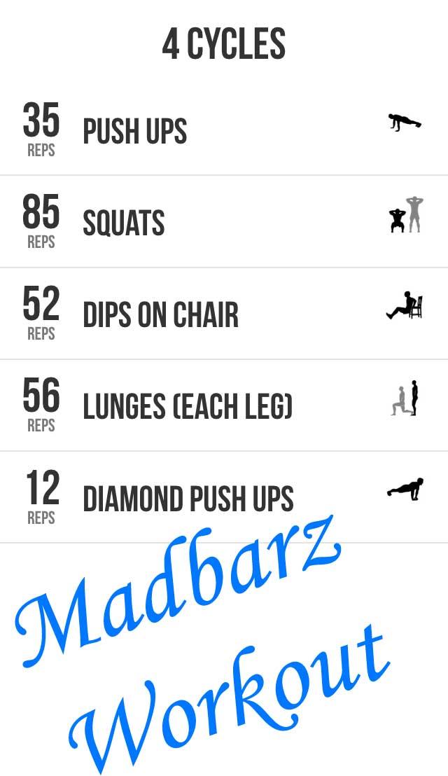 MadBarz ~ Kickstart Your Home Bodyweight Workouts Today