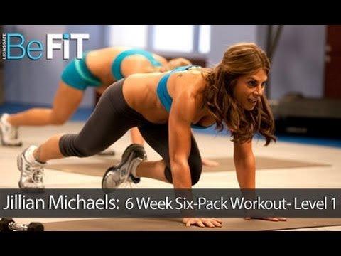 Jillian Michaels: 6 Week Six-Pack Abs Workout