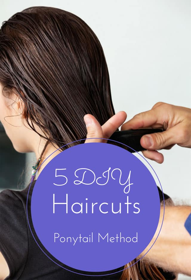 Ponytail haircut do it yourself hair 5 diy haircuts your hairstylist doesn t want you to see solutioingenieria Images