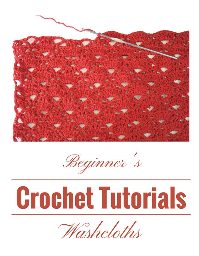 Crochet Tutorials Washcloths