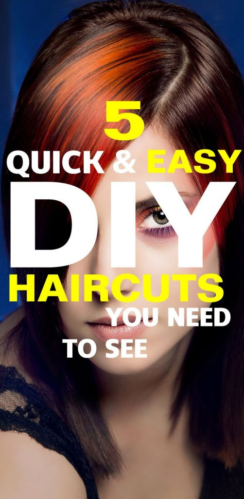 5 Quick and Easy DIY Haircuts You Need To See