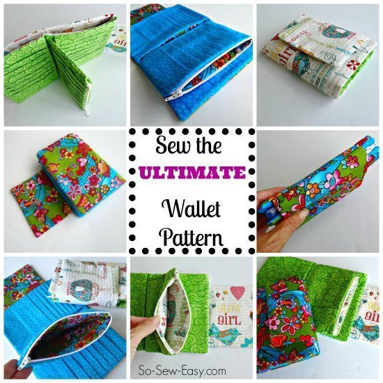 The Ultimate Wallet sewing pattern