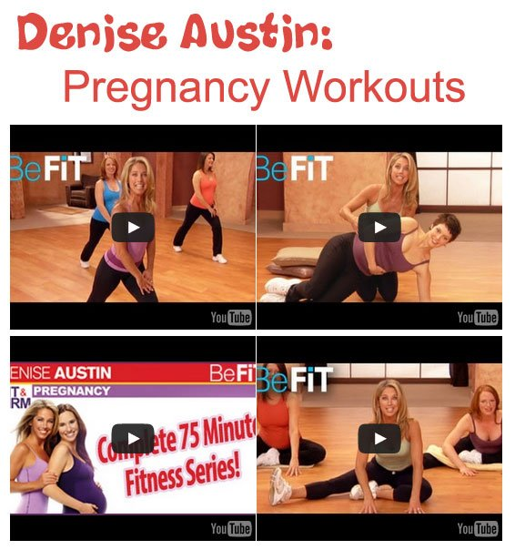 Denise Austin Pregnancy Workout