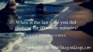 All It Takes Is 10 Mindful Minutes