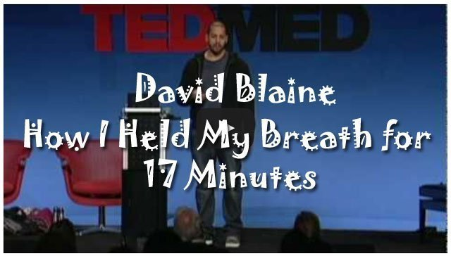 David Blaine Breath Hold