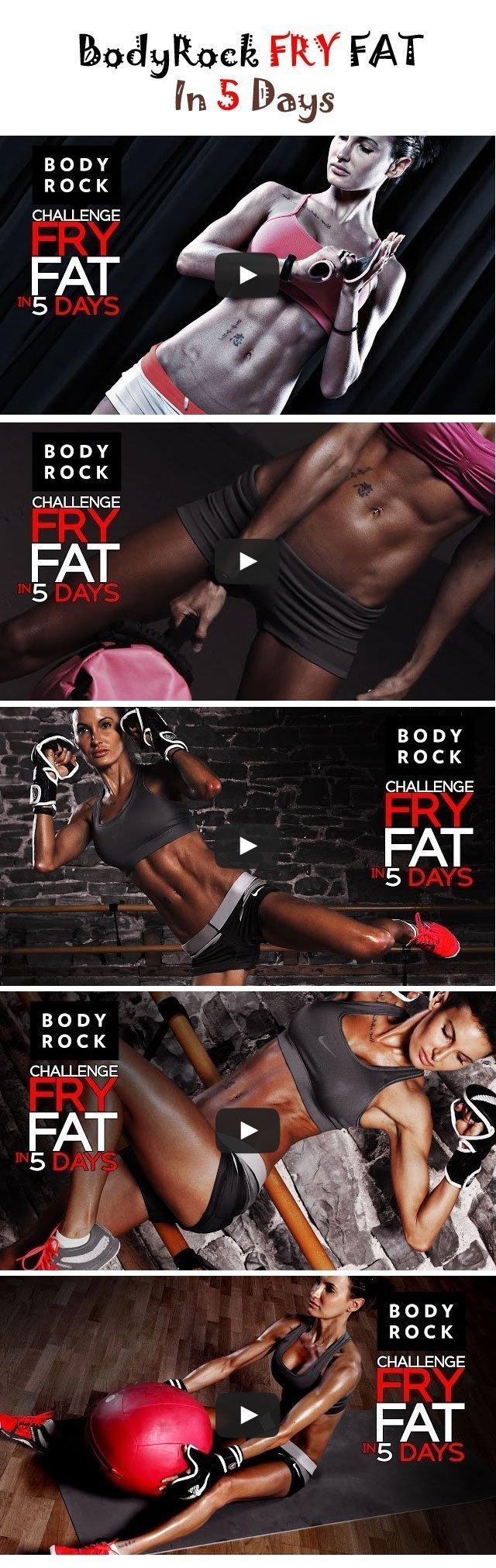 BodyRock Fry Fat In 5 Days