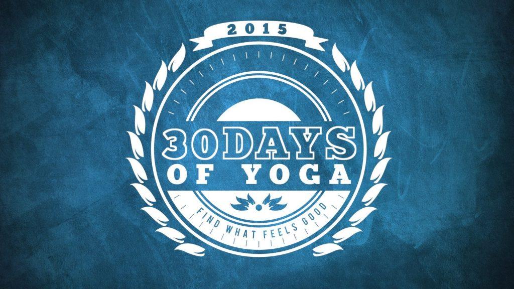 30 Days of Yoga