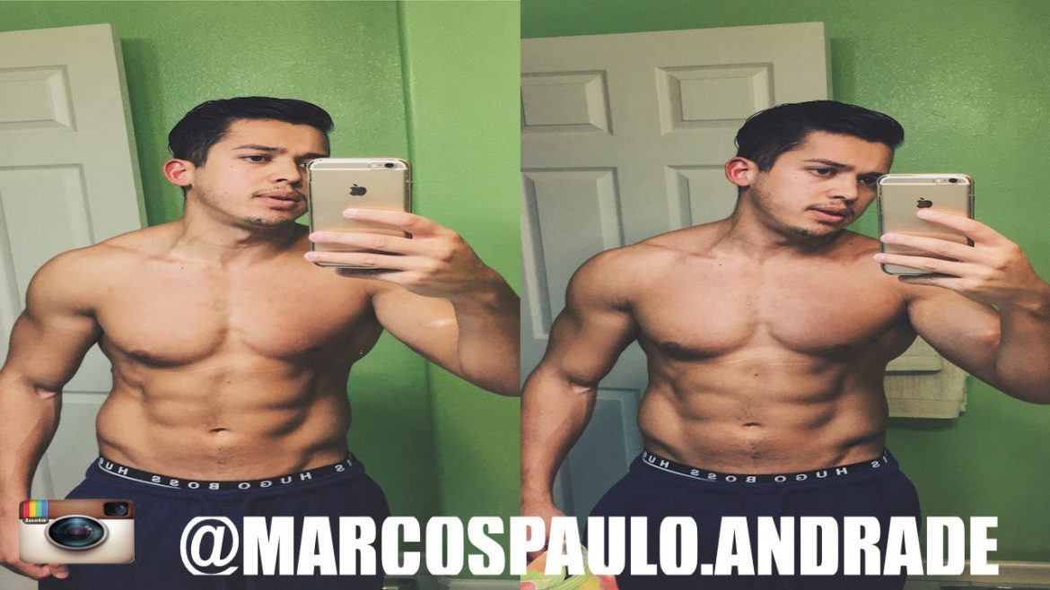 How To Take a Selfie Of Your Abs Like a PRO