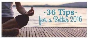 36 Self Improvement Tips for a Better 2016