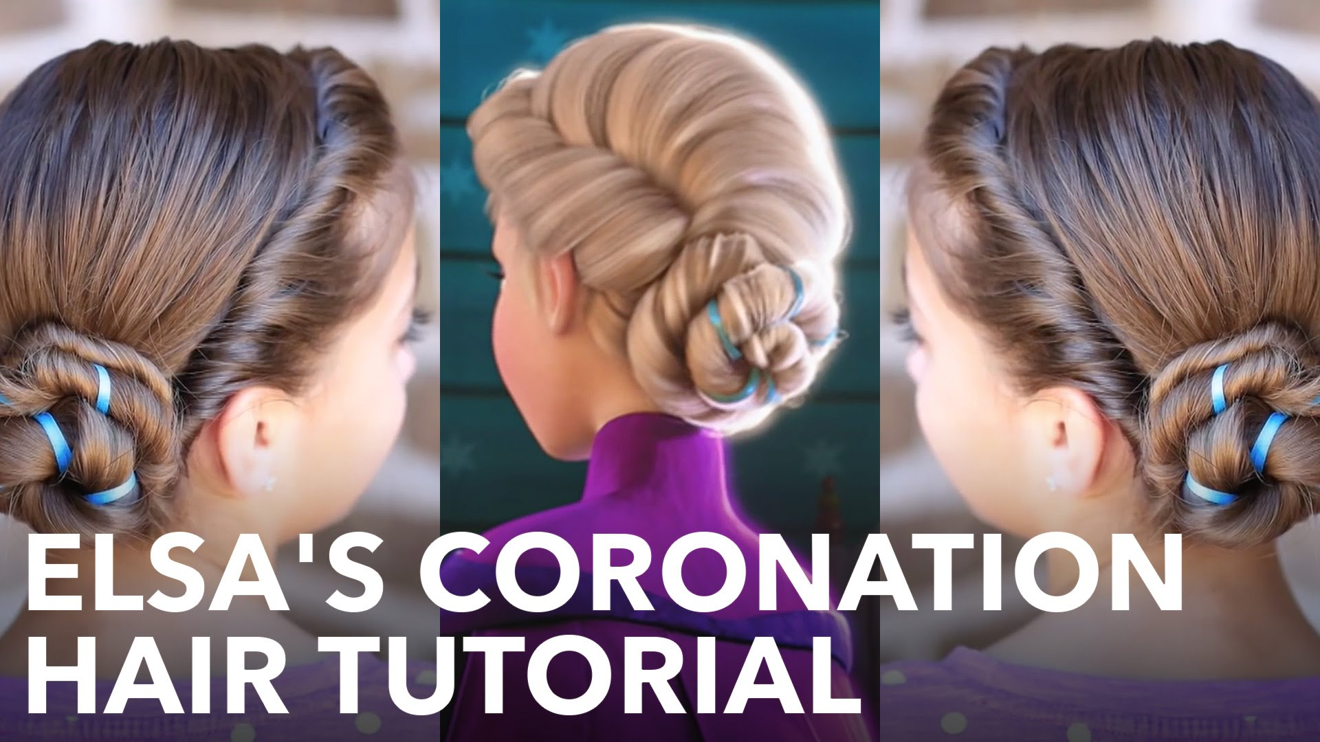 Elsa Hairstyle Tutorial