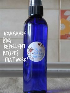 Natural Bug Repellent ~ Essential Oils and Water