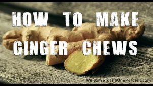 How To Make Ginger Chews – Ginger Candy Recipe