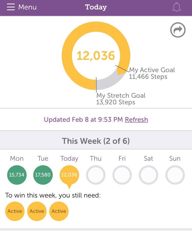StepBet Goals