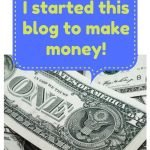 I Started This Blog To Make Money