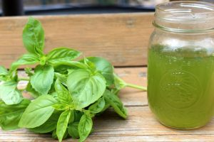 Stress Busting with Basil Tea