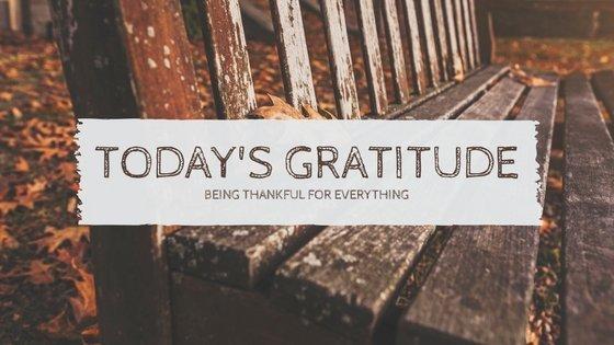 Today's Gratitude