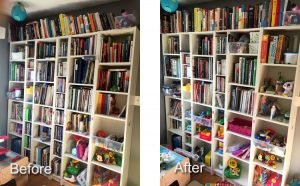 How I Tossed Over 100 Books Guilt Free