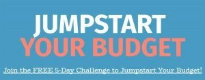 2018 Jumpstart Your Budget 5-Day Challenge