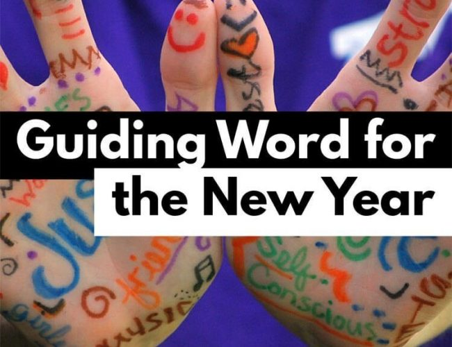 Guiding Word for the New Year