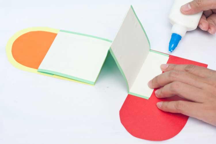 DIY Valentine's Day Card Craft Step 12