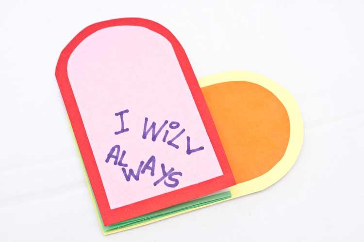DIY Valentine's Day Card Craft Step 14