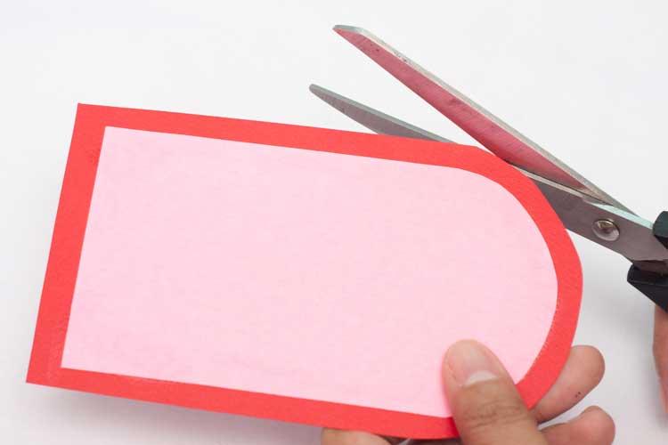 DIY Valentine's Day Card Craft Step 6