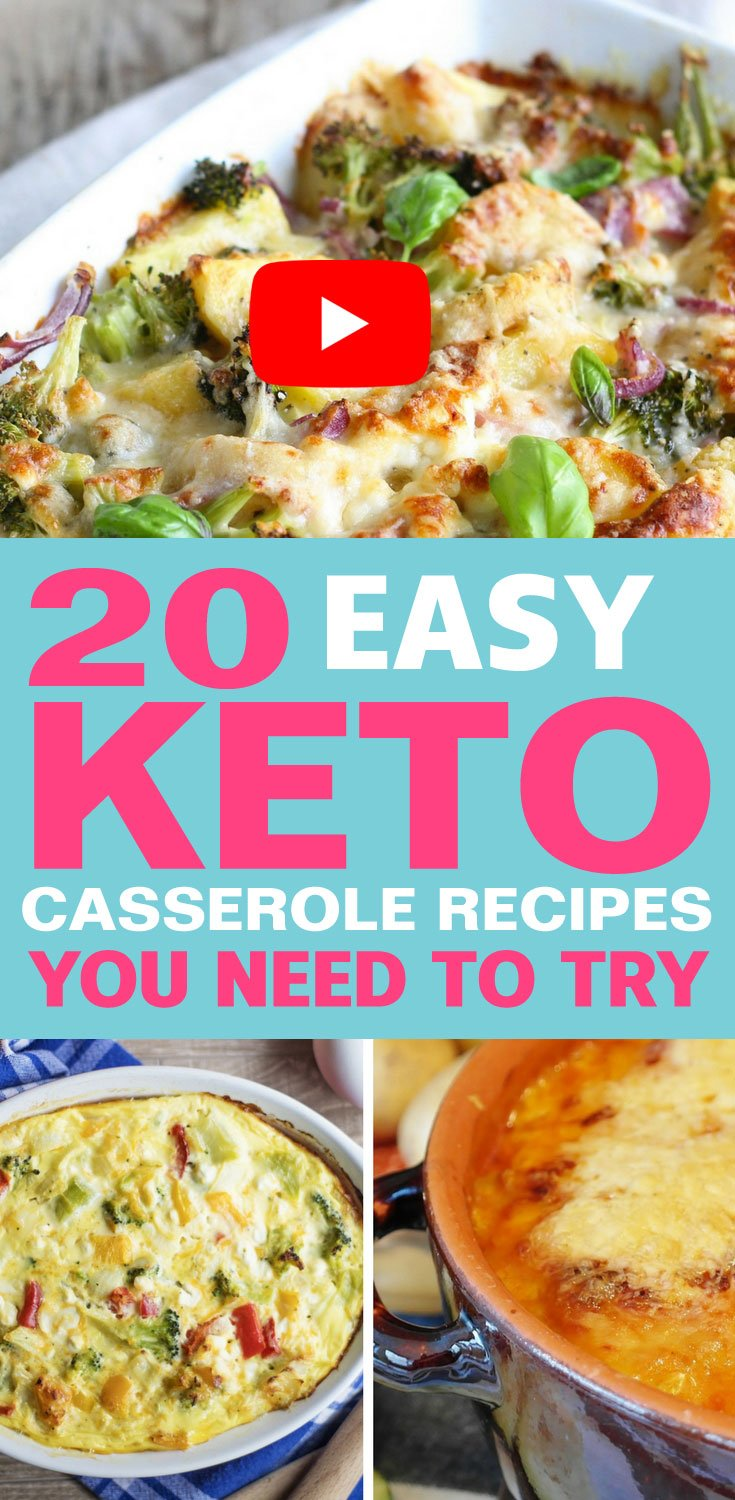 20 Easy Keto Casserole Recipes You Need To Try