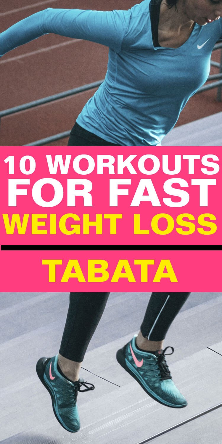 10 Workouts for Fast Weight Loss - Tabata