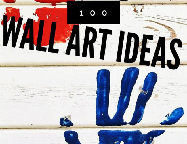 DIY 100 Wall Art Ideas