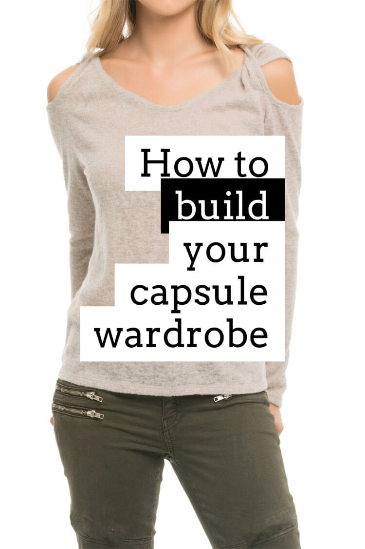 The Capsule Wardrobe ~ Wardrobe Building