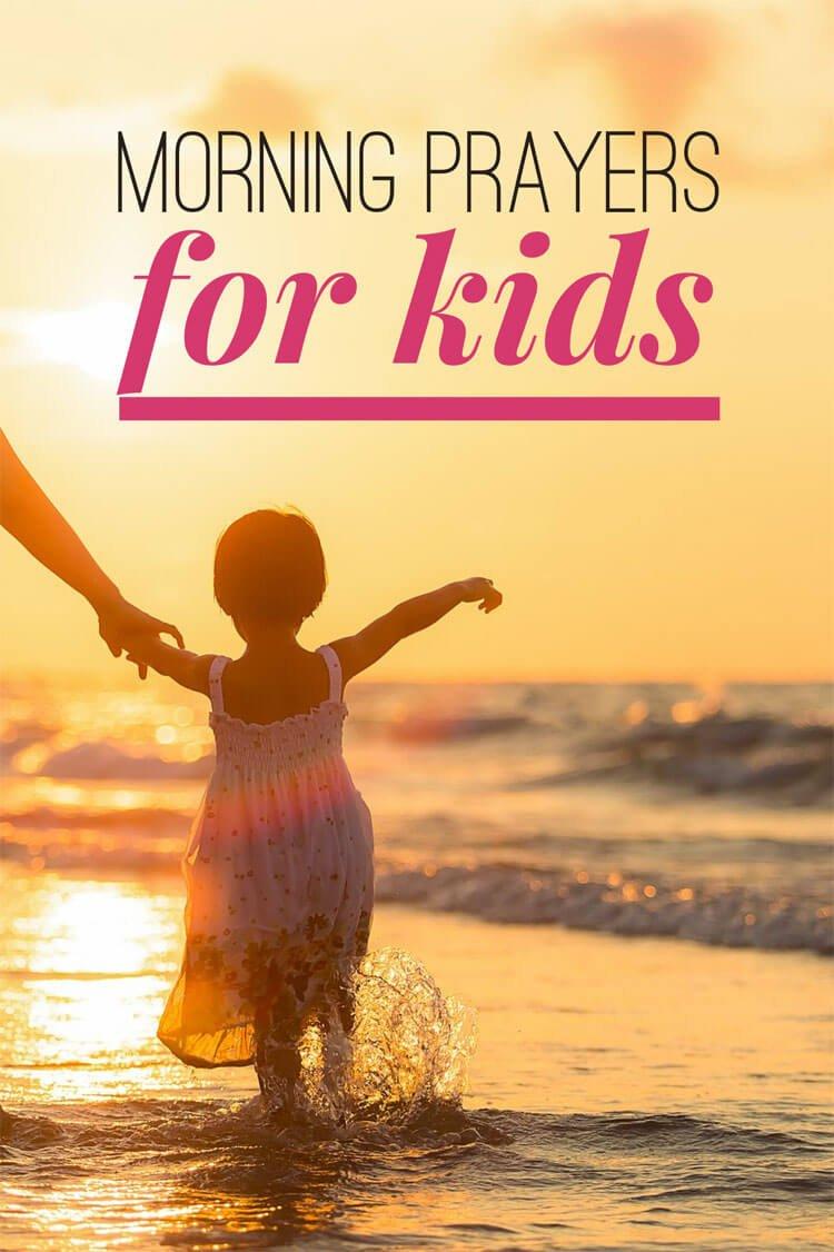 Morning Prayers for kids