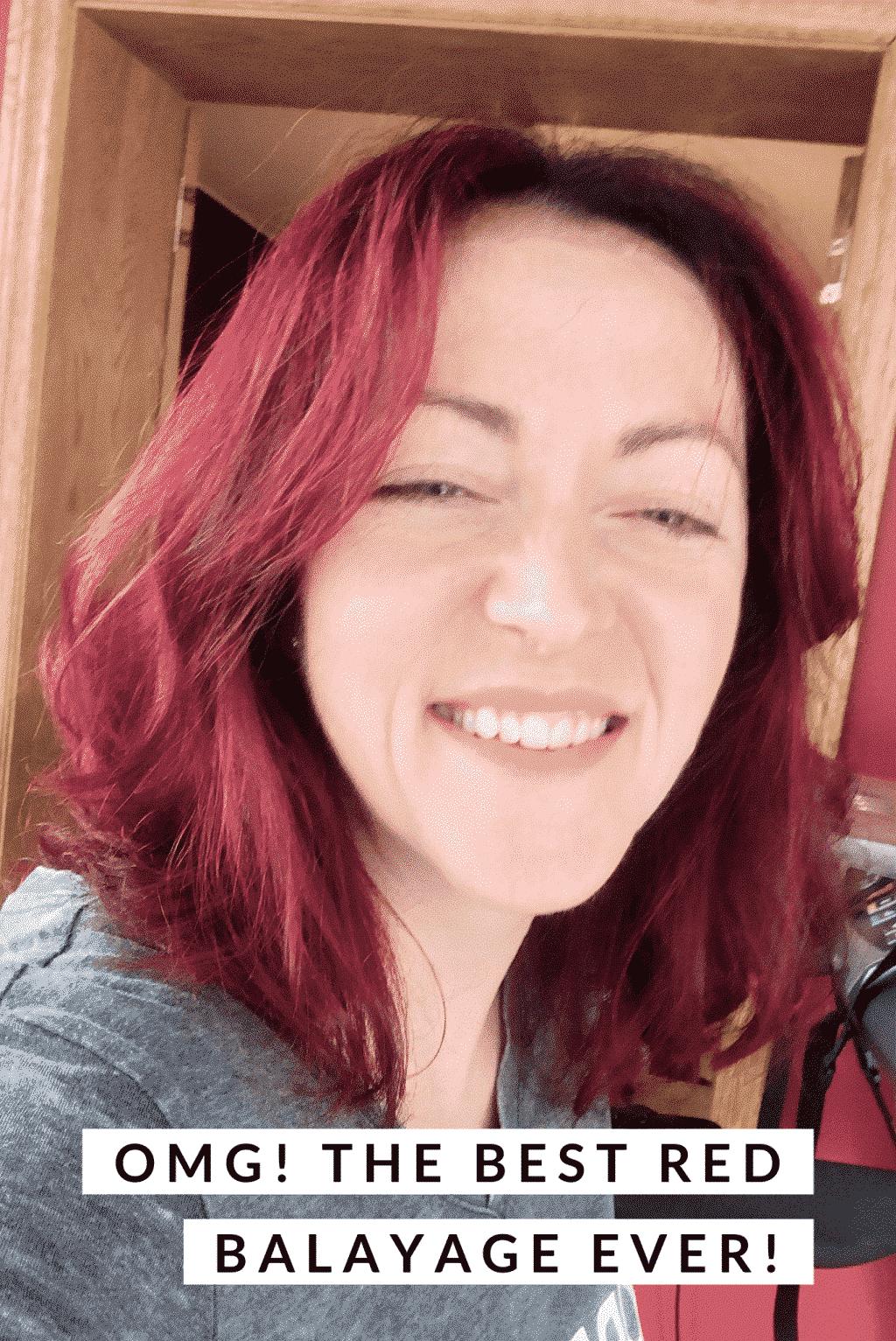 red hair ponytail hair cut method