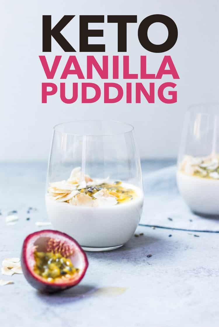 Easy Low Carb Keto Vanilla Pudding Recipes – Sugar Free