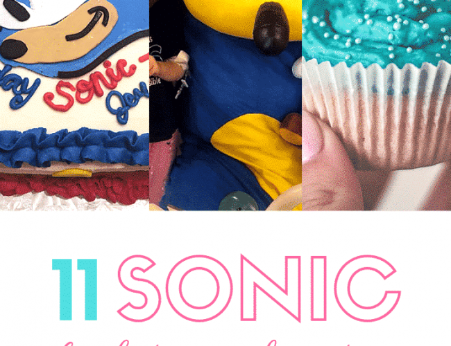 11 Sonic Birthday Cake Ideas