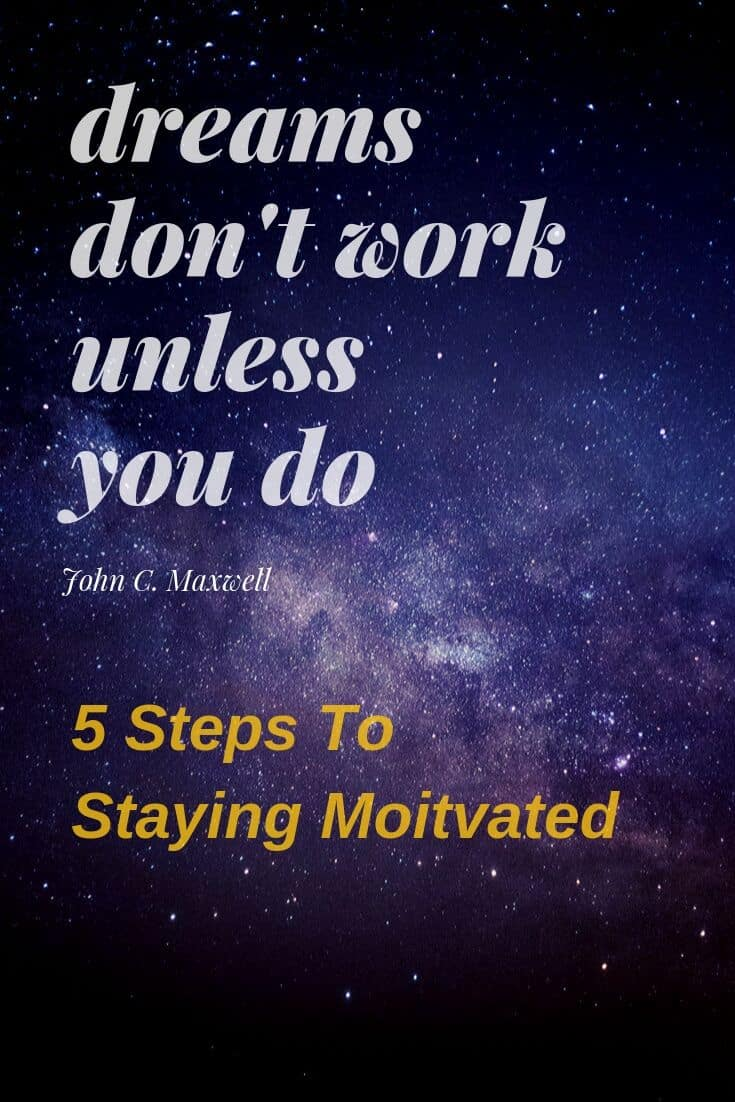 5 Steps to Staying Motivated to Complete a Major Goal