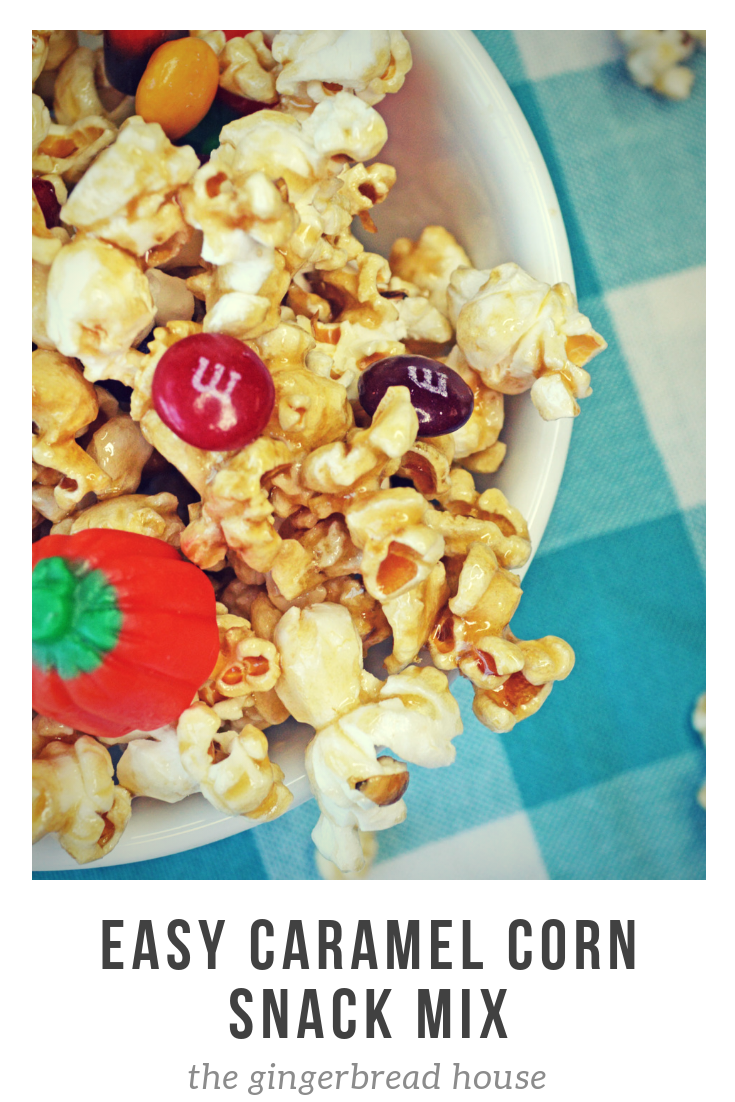 Easy Caramel Corn Snack Mix - the-gingerbread-house.co.uk