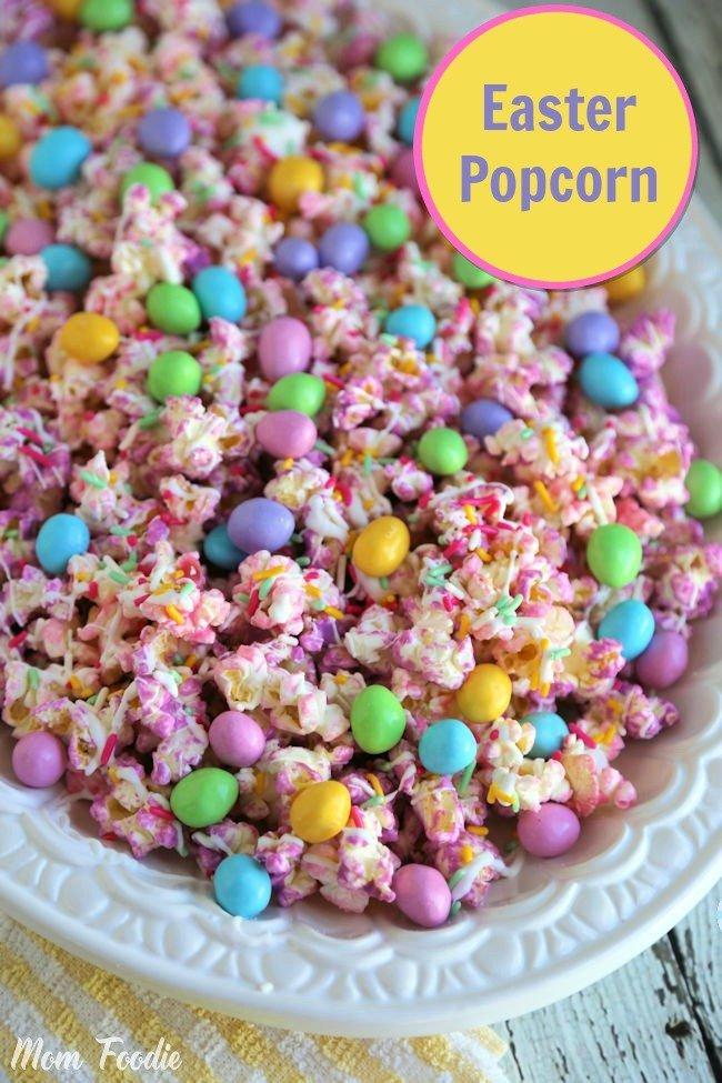 Easter Popcorn Recipe: Gourmet Chocolate Covered Popcorn