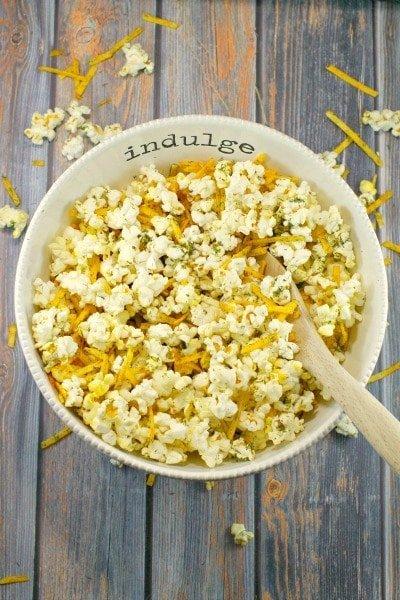 Savory Harvest Popcorn -Food Meanderings