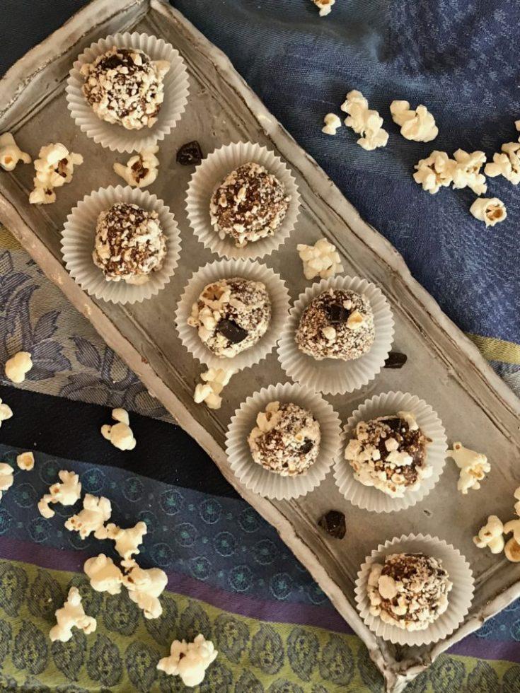 Popcorn Bliss Balls - Debra Klein | Health & Wellness Coach